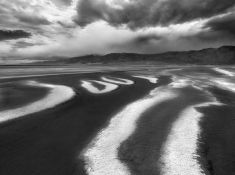 DISTANT STORM  - Death Valley National Park, California, USA