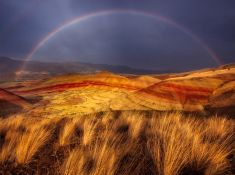 DESERT RAINBOW - Painted Hills, Oregon, USA